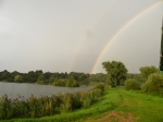 Rainbow over Holkham
